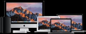 Apple Mac focus